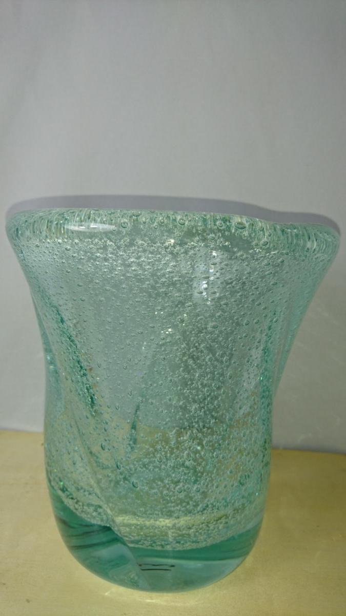Vase Daum Nancy. Bubbles