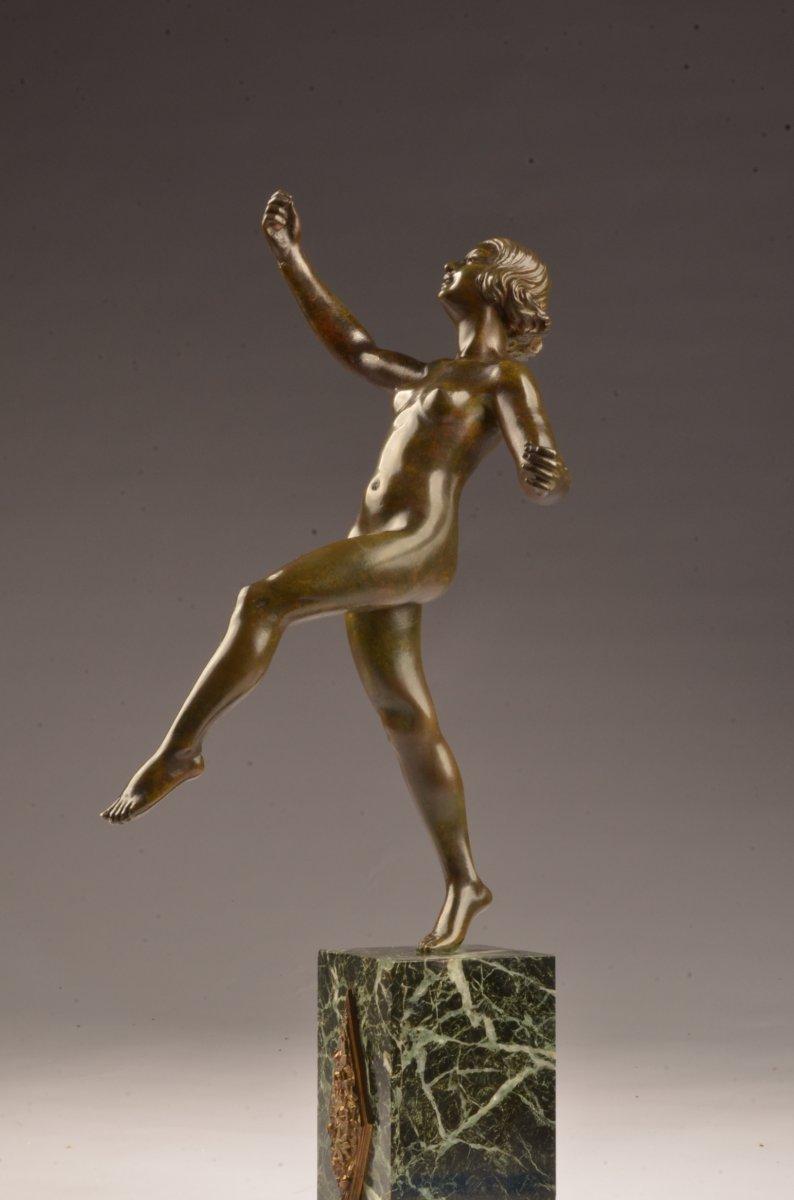 Bronze Art Deco Signé Michel