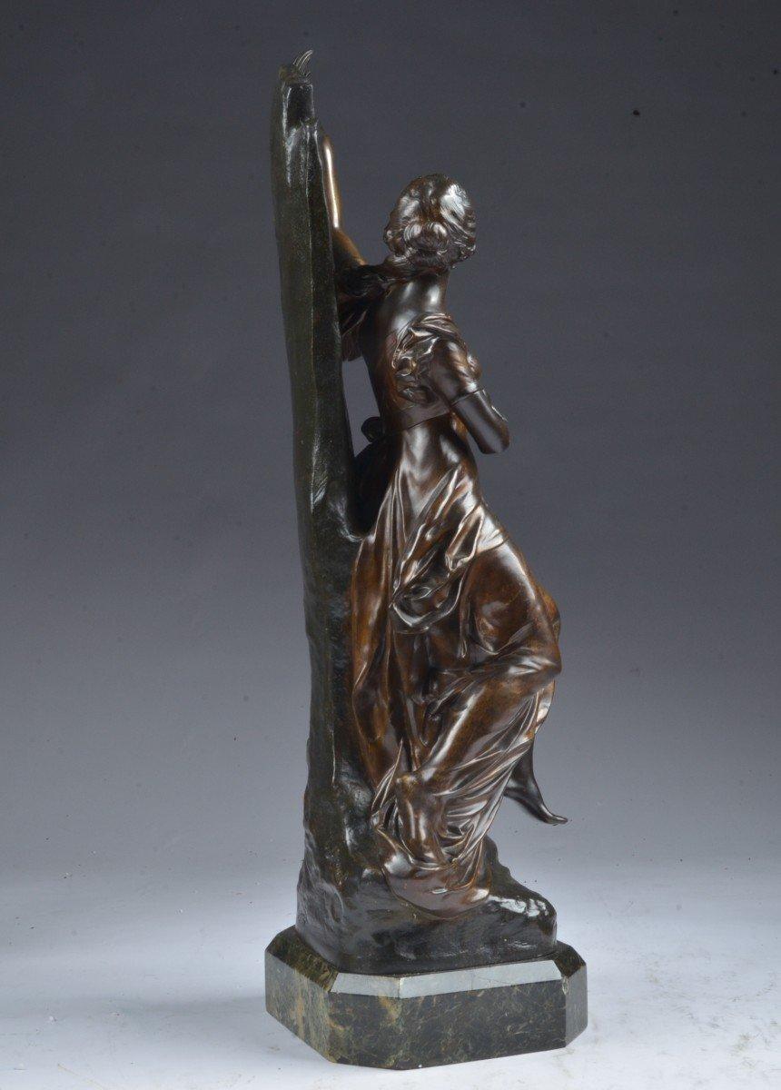 Bronze Signé E. Drouot. (1859-1945) -photo-3