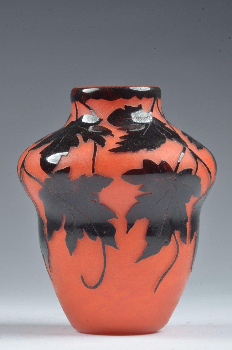 Vase Art Deco. Degue David Guérin-photo-4