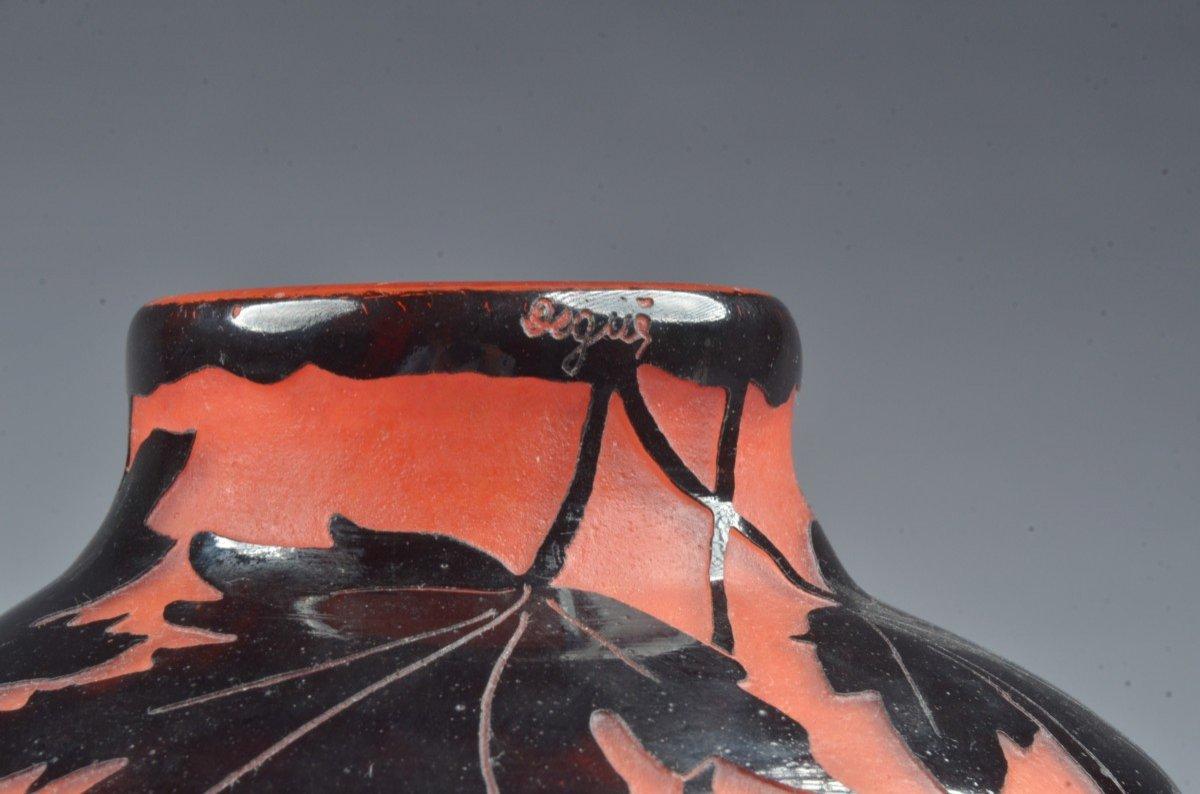 Vase Art Deco. Degue David Guérin-photo-1