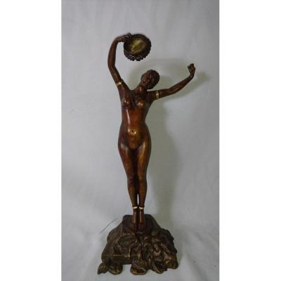Bronze Danseuse Louis Hottot (1829-1905)