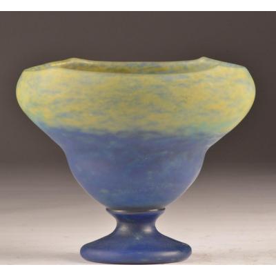 Vase Art Déco Signé Daum Nancy