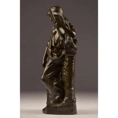 Bronze Paul Darbefeuille. (1852-1933)