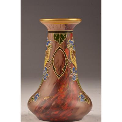 Vase Signed Legras