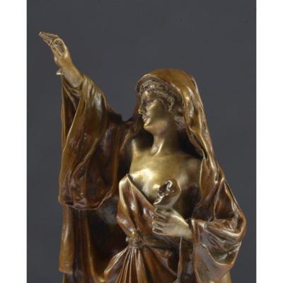 Bronze Armand Guenard (1865-1925) Thalia Thalie