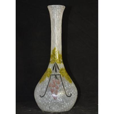 Vase  Art Deco Signé Legras
