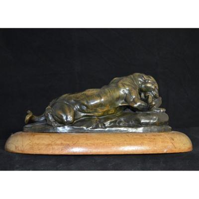 Panter Bronze. Par Antoine Louis Barye