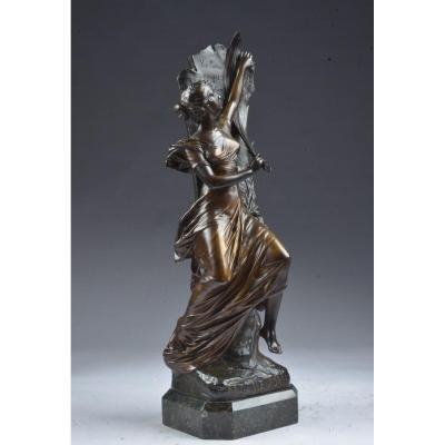 Bronze Signé E. Drouot. (1859-1945)