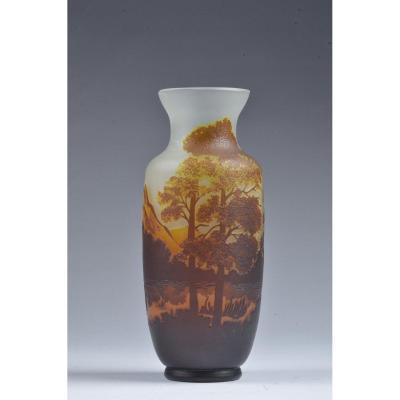 Vase Art Nouveau Signé Andronie