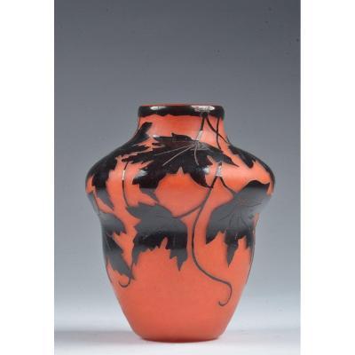 Vase Art Deco. Degue David Guérin