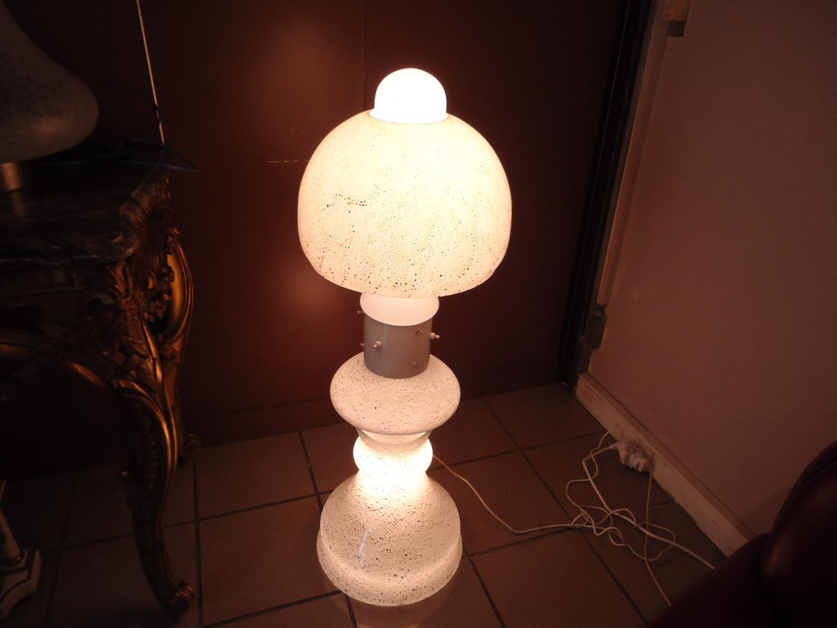 lampe champignon murano lampadaires. Black Bedroom Furniture Sets. Home Design Ideas
