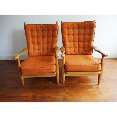 Armchairs Guillerme And Chambron
