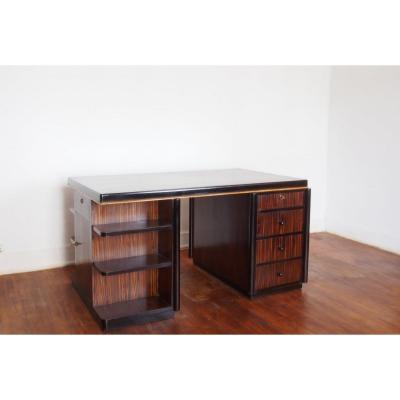 Office Flat 1930 In Macassar Ebony