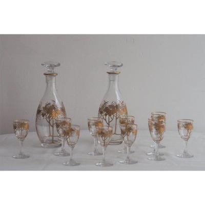 Crystal Liqueur Service