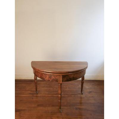 Half-moon Directoire Table