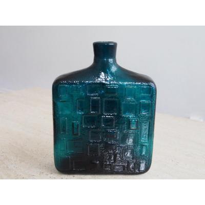 Pressed Glass Vase 1950