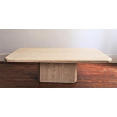 Table Basse Travertin