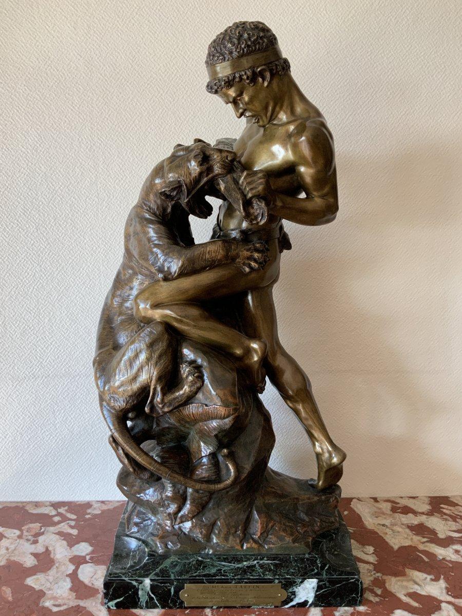 Bronze  Drouot, Lutte Pour La Vie