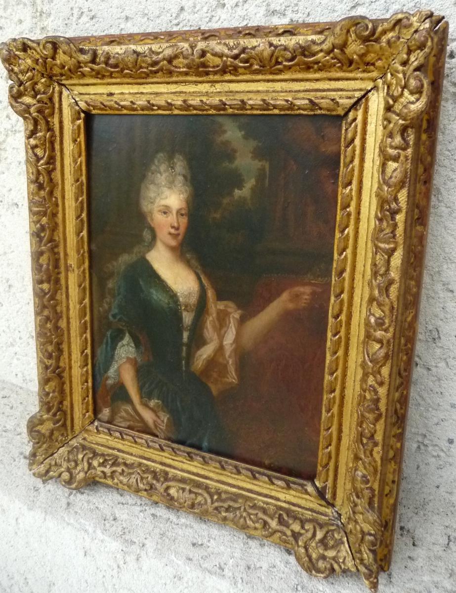 Portrait D Une Noble Dame