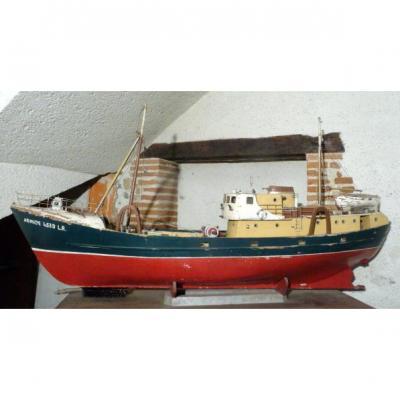 """Large Model Trawler """"armide"""" La Rochelle 173 Cm"""