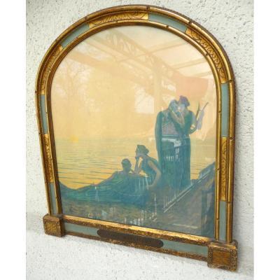 """"""" Soir Antique """" Par Alphonse Osbert """"  1857 - 1839"""