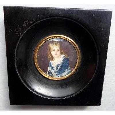 Portrait De Louis XVII