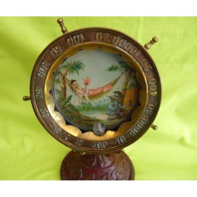 """""""Roulette De Comptoir D'époque 1900 Scène Orientale"""""""