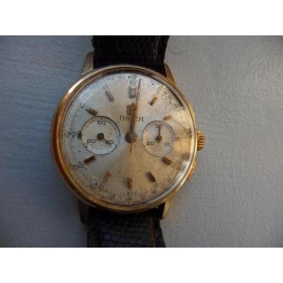 Montre Chronographe Tissot Année 50-60 Mouvement Lemania
