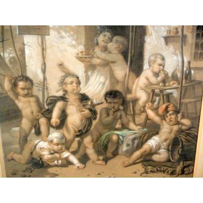 Au Rendez Vous Des Pêcheurs Roche Alexandre 1860
