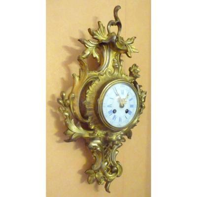 Louis XV Style Gilt Bronze Cartel