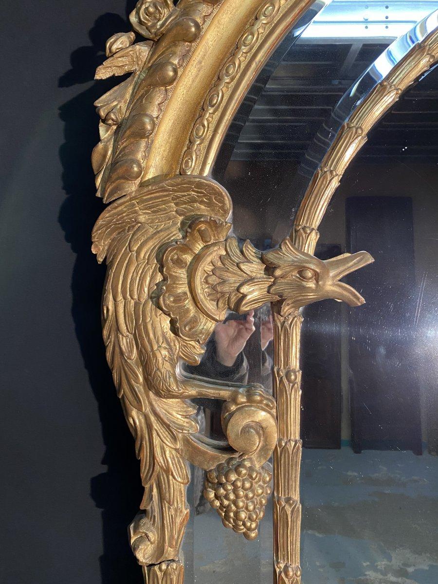 """Grand Miroir ( 2.30 m) Modèle """"Aux Chimères""""-photo-2"""