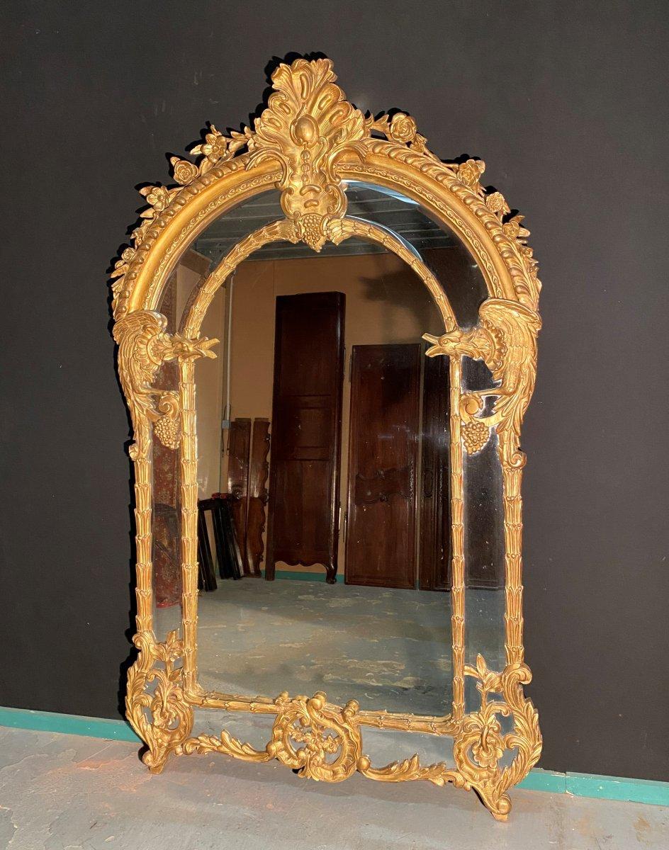 """Grand Miroir ( 2.30 m) Modèle """"Aux Chimères"""""""