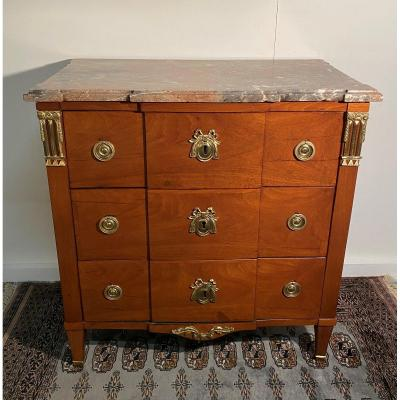 Commode Louis XVI Estampillée FC FRANC