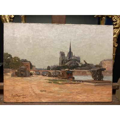 Notre Dame De Paris Painting
