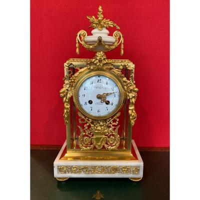 Louis XVI Cage Clock