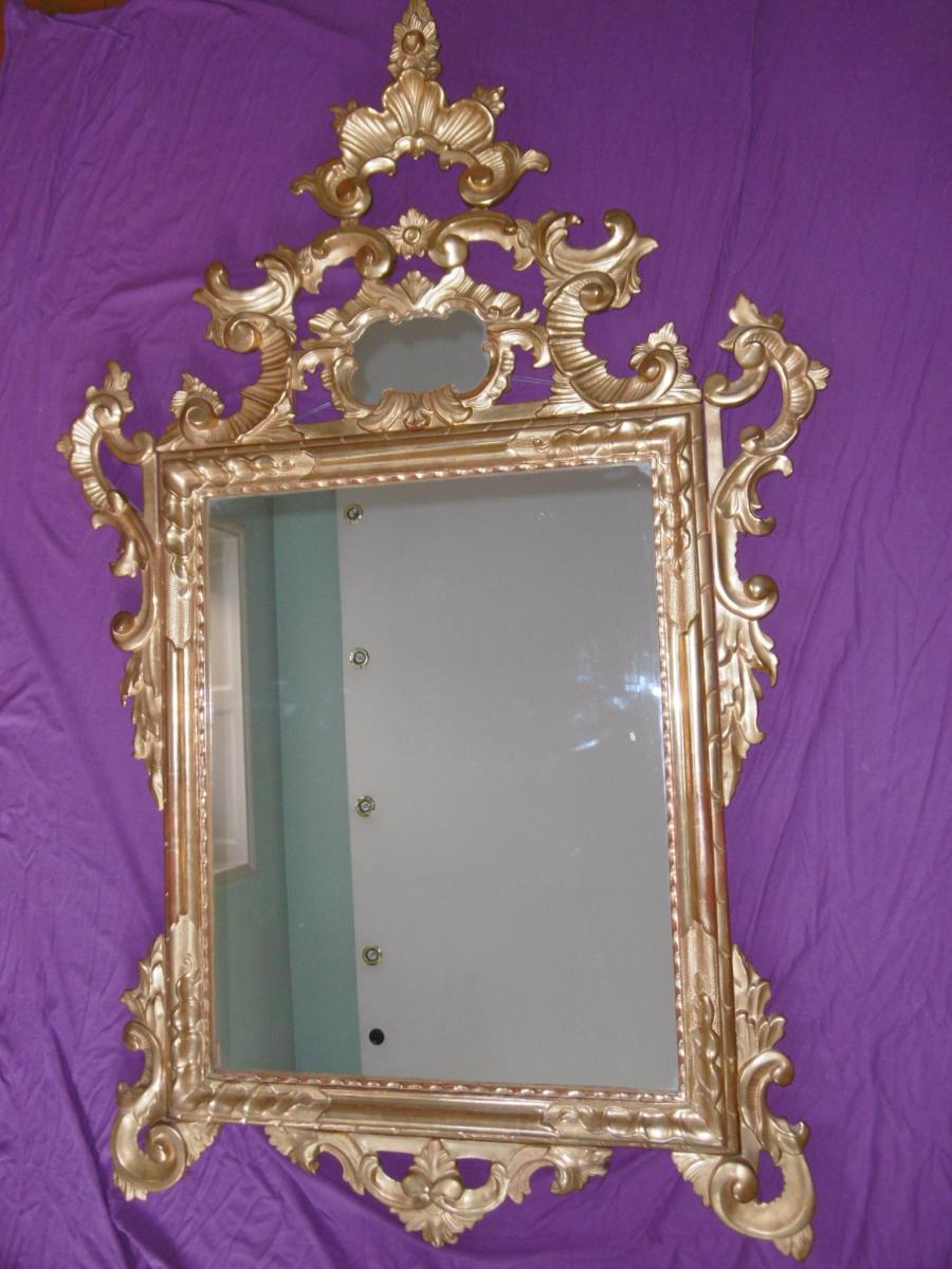 Mirror In Golden Wood L.xv