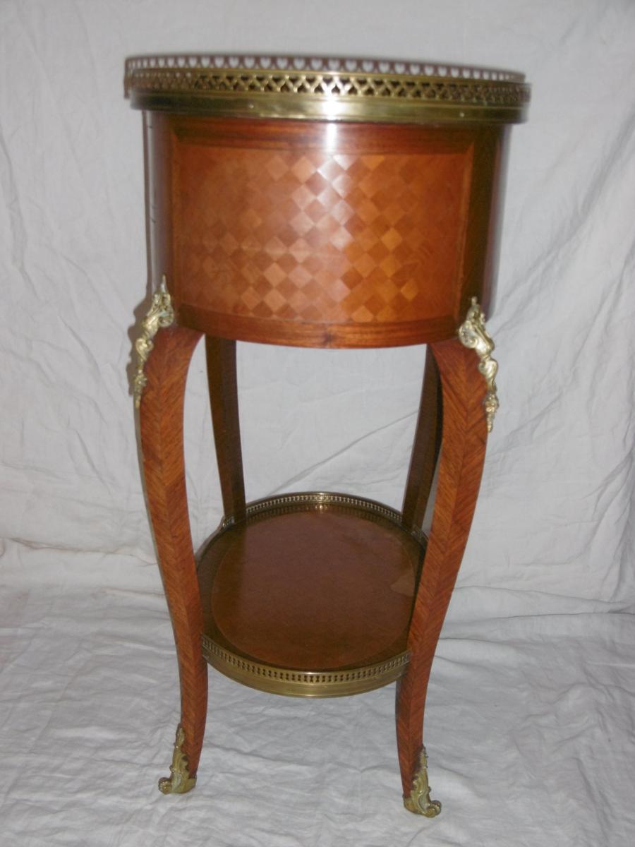 Table De Salon Ovale-photo-3