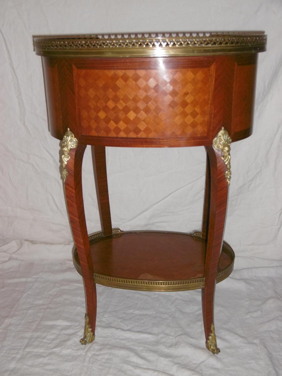 Table De Salon Ovale-photo-4