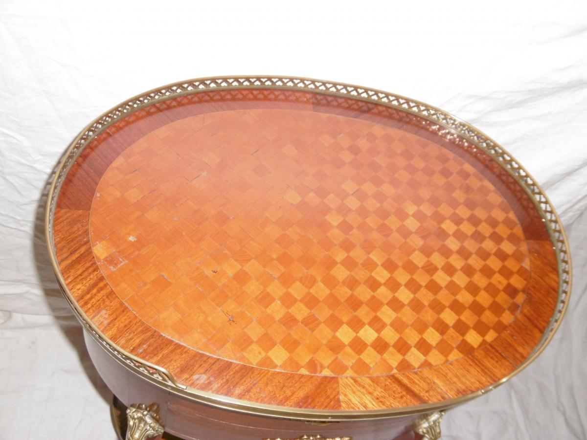 Table De Salon Ovale-photo-2