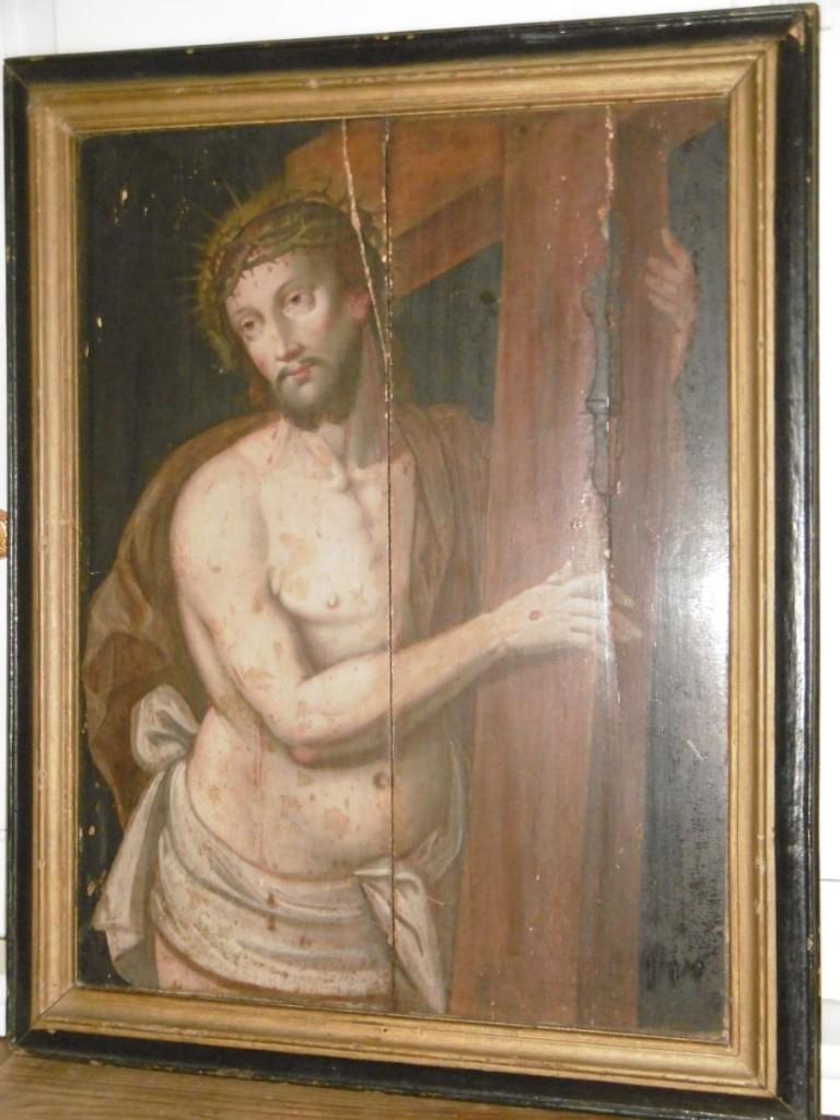 """""""Christ Portant Sa Croix"""" XVIIème"""