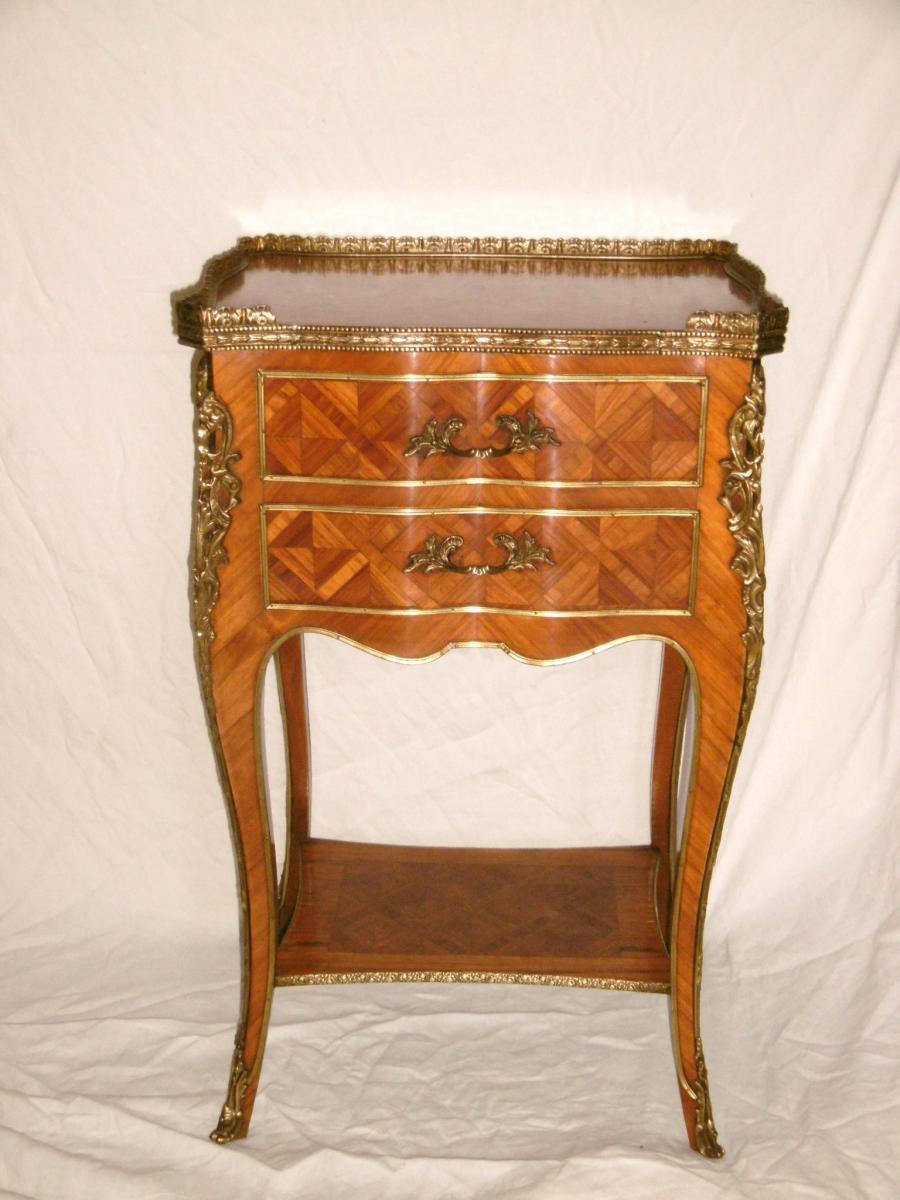 Table De Salon Toutes Faces Louis XV