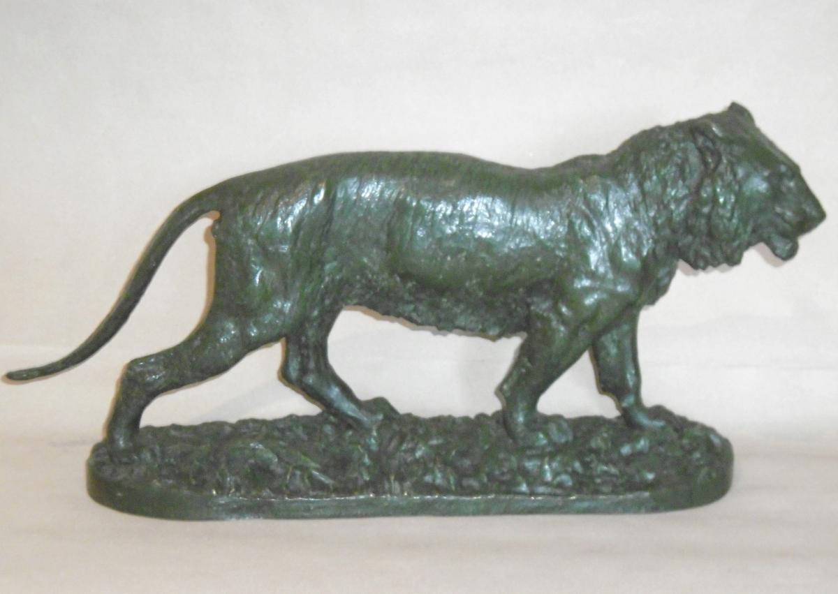 "Bronze De Fratin ""le Tigre Marchant"""