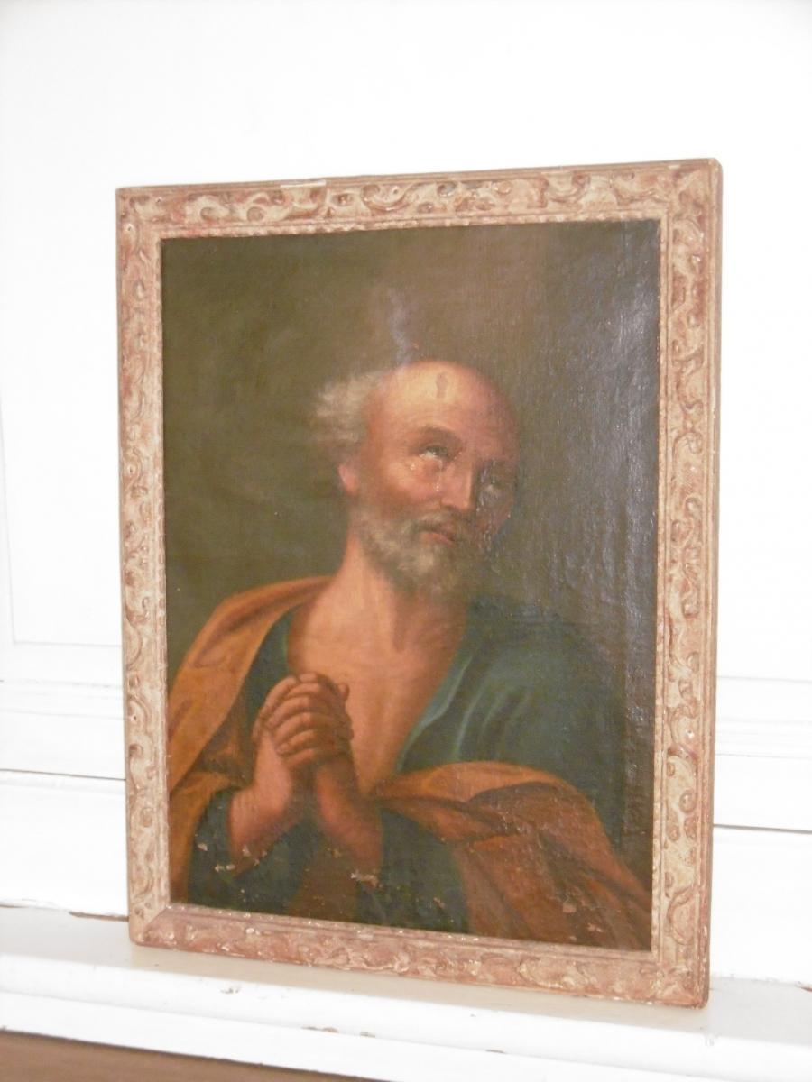 Portrait De Saint Jérôme 17ème