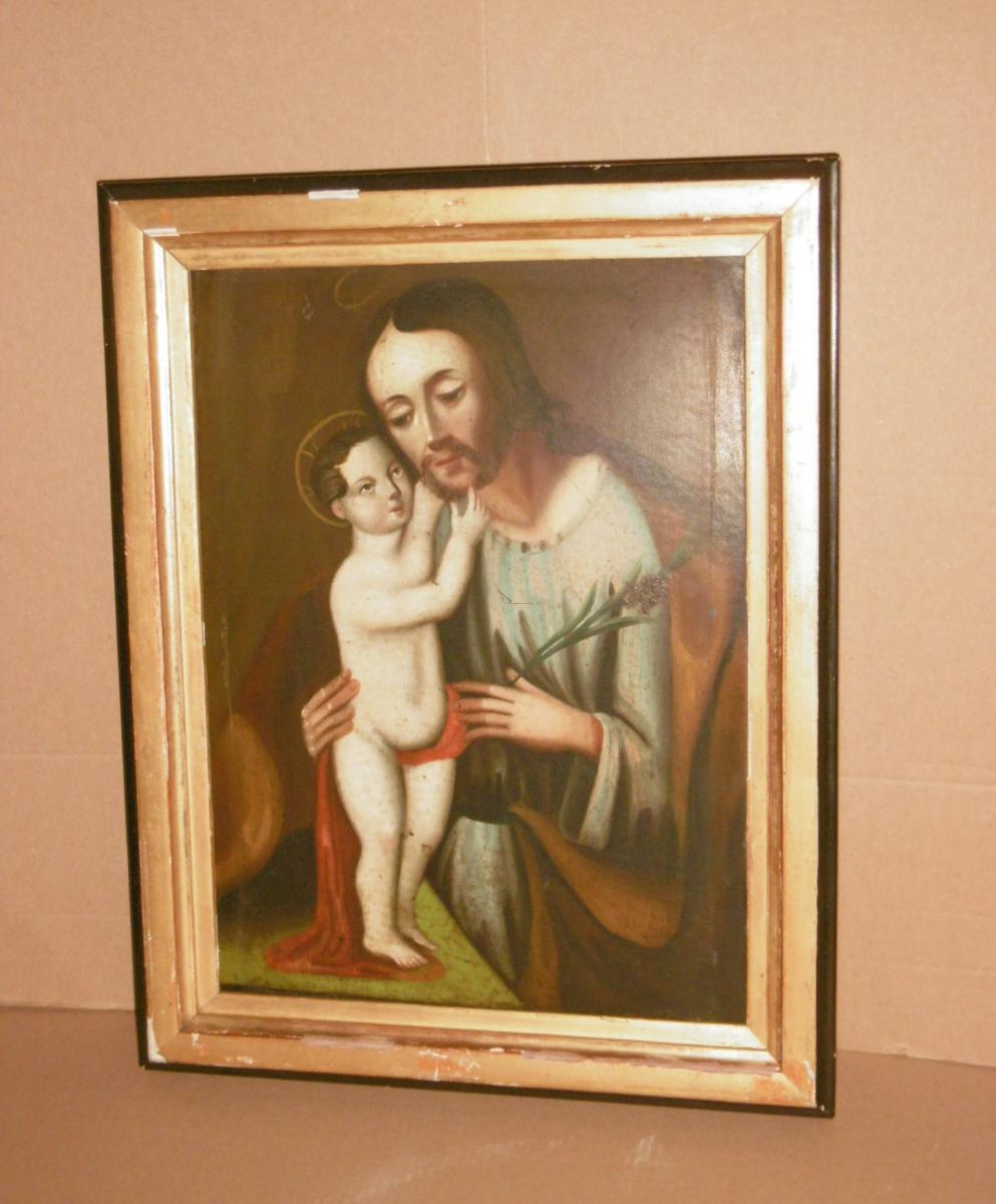 Peinture XVIIème