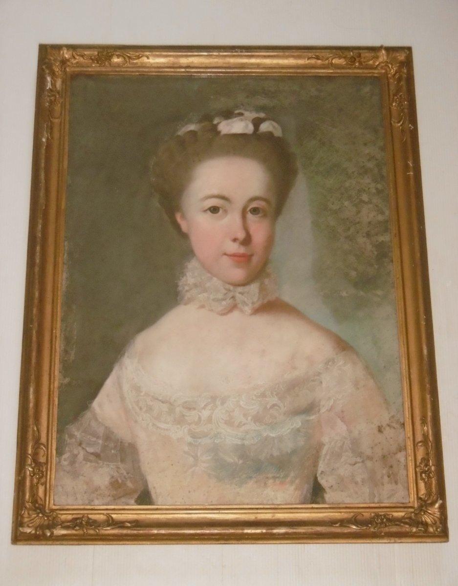 Pastel XVIIIème