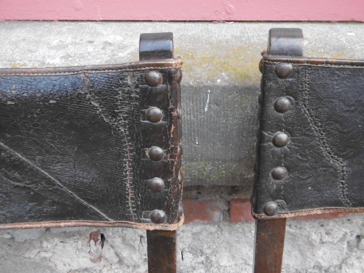 Série De Six Chaises Haute époque-photo-3