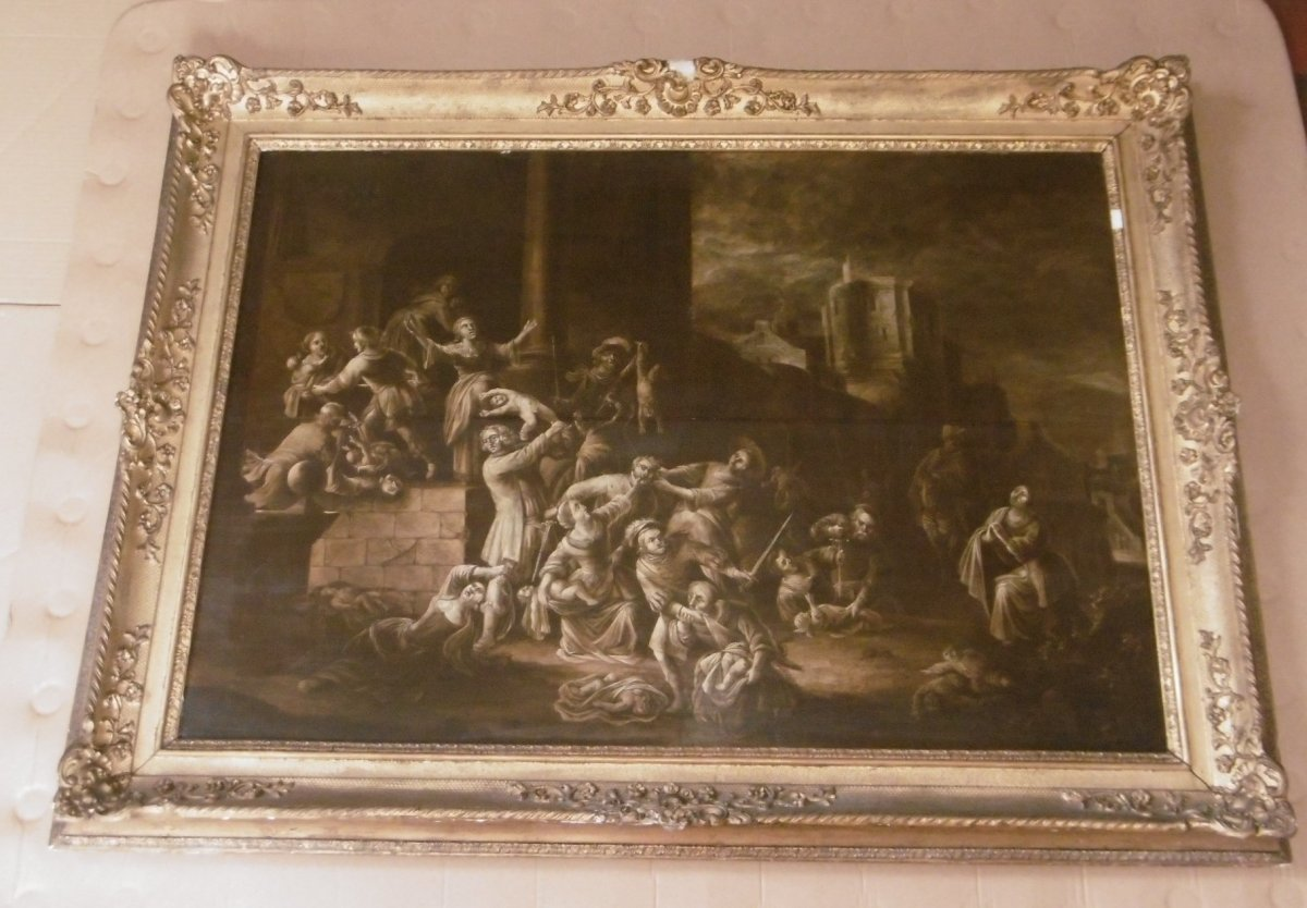 17th Grisaille Painting