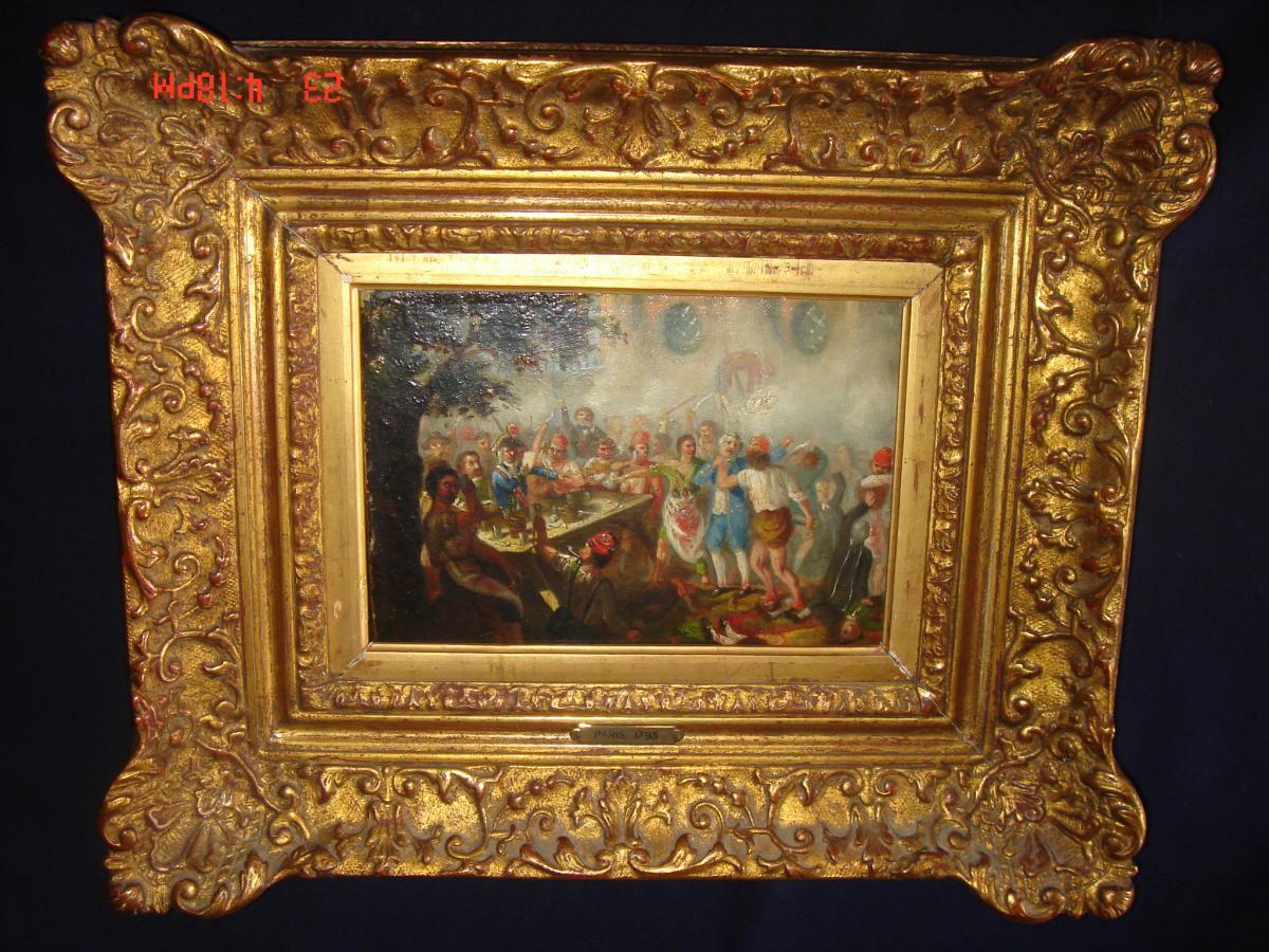 "Oil On Canvas 18th ""on Terror"""