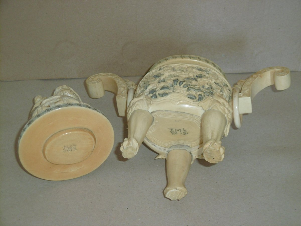 19th Century Covered Pot-photo-1
